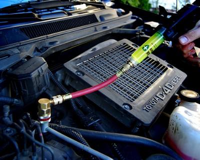 Lekkasje aircondition bil